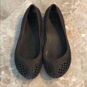 RARE Ballet Flat Crocs ❤️ Sz 4